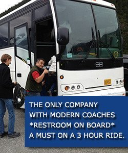 coaches with restroom