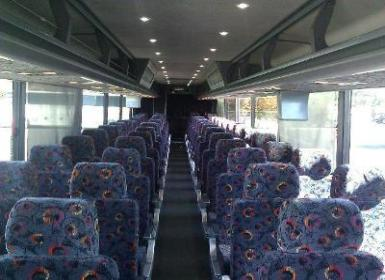 Inside our coach