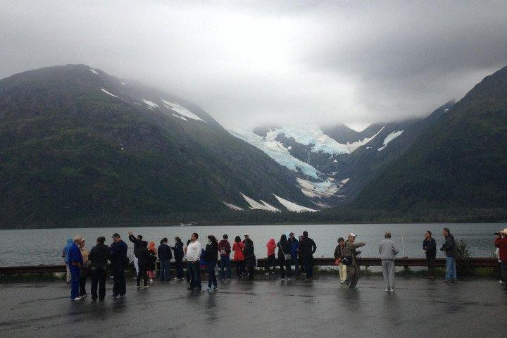 portage glacier lake