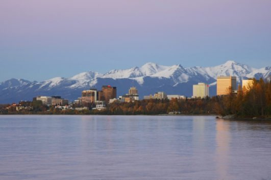 One Hour Anchorage City Tour Views