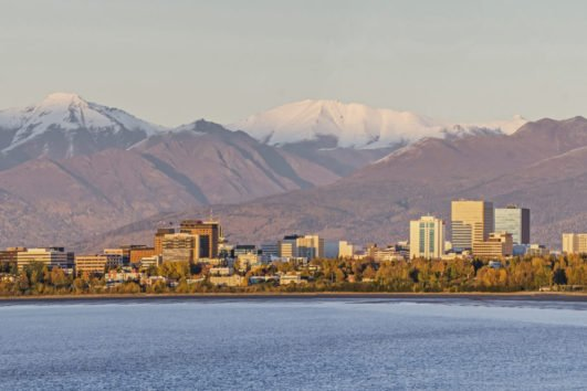 Anchorage city tour